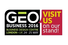 Exhibiting at GEO Business, May 24-25, London, UK
