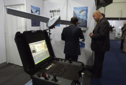 Robot Aviation exhibiting our products at UMEX, UAE